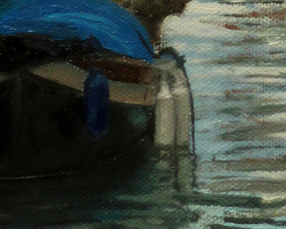 Venetian bridge painting